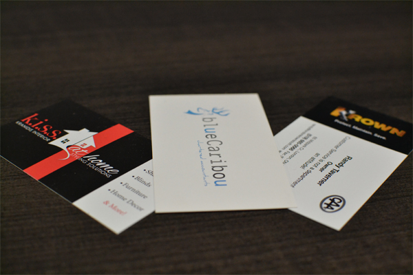 Business Cards Vision Signs Promos